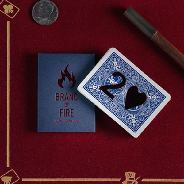 BRAND OF FIRE / BLUE(Gimmicks and Online Instructi...