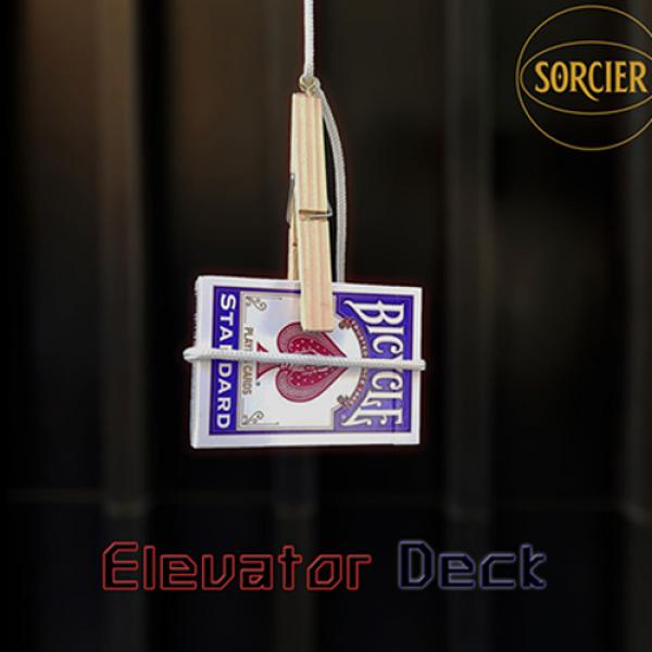 Elevator Deck RED by Sorcier Magic