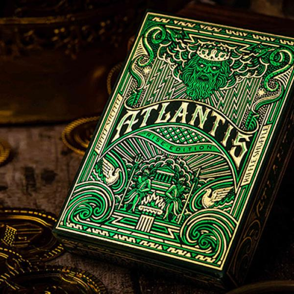 Atlantis Rise Edition Playing Cards by Riffle Shuf...
