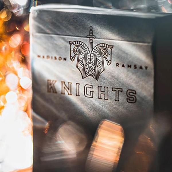 Knights V2 (White) Playing Cards by Madison and Ra...