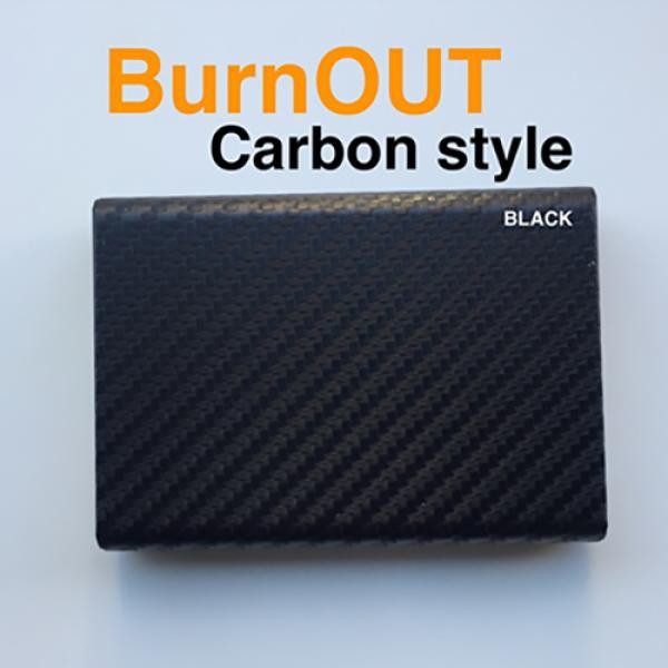 BURNOUT 2.0 CARBON BLACK by Victor Voitko (Gimmick...
