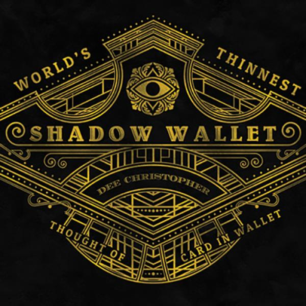 Shadow Wallet Leather (Gimmick and Online Instruct...