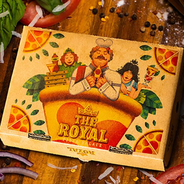The Royal Pizza Palace Playing Cards Set by Riffle...