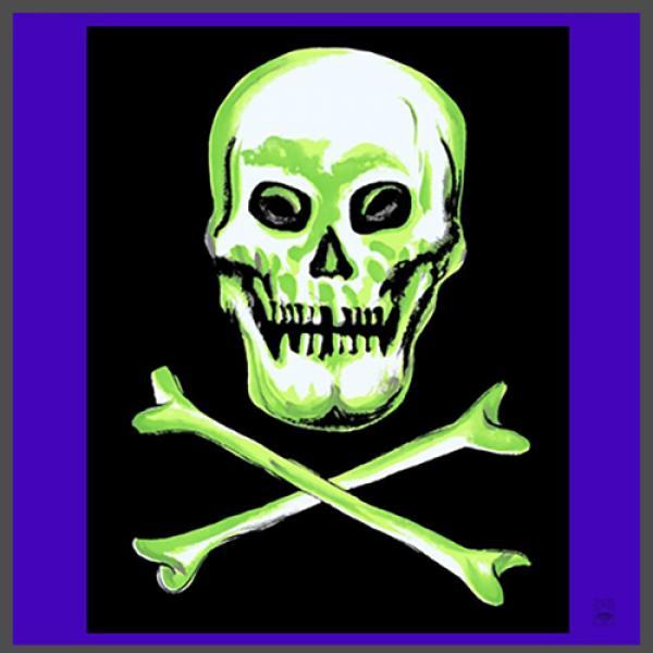 "Rice Symphony Silk 36"" (Skull and Cross Bones..."