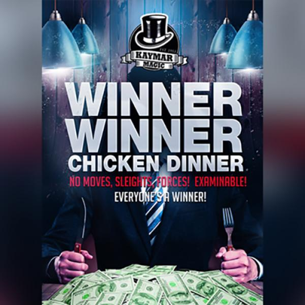 WINNER WINNER CHICKEN DINNER (Gimmicks and Online Instructions) by Kaymar Magic