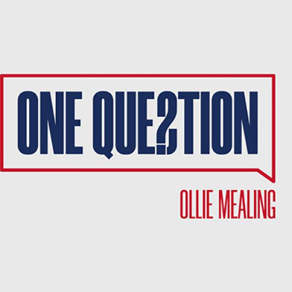 One Question (Gimmicks and Online Instructions) by Ollie Mealing