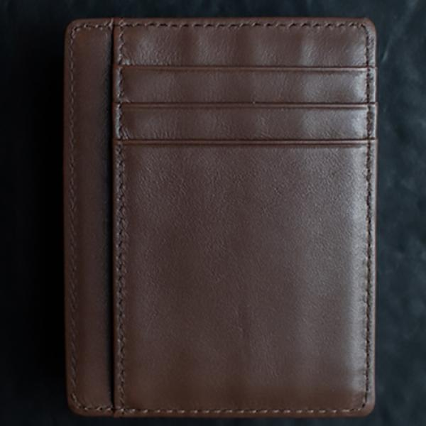 Limited Edition Shadow Wallet Bourbon Tan Leather ...