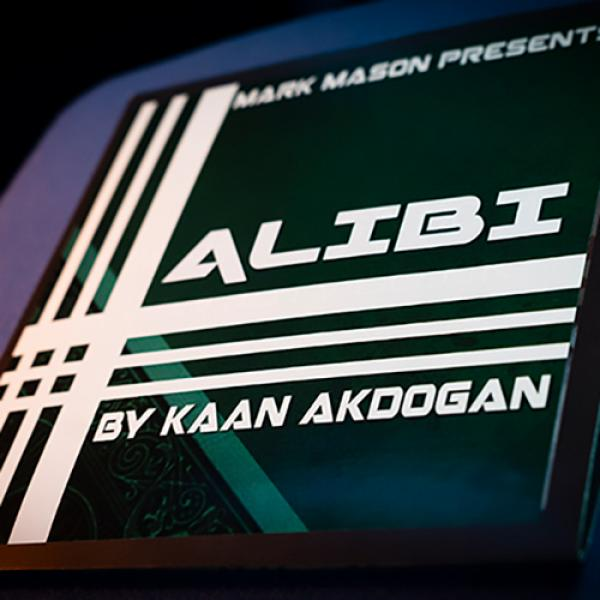 Alibi Red (Gimmicks and Online Instructions) by Kaan Akdogan and Mark Mason