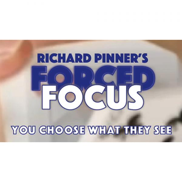 FORCED FOCUS RED by Richard Pinner