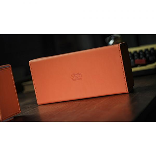 Playing Card Collection ORANGE 12 Deck Box by TCC
