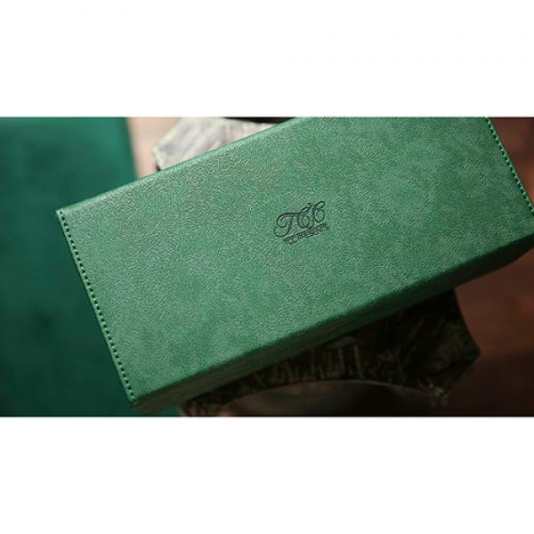Playing Card Collection GREEN 12 Deck Box by TCC