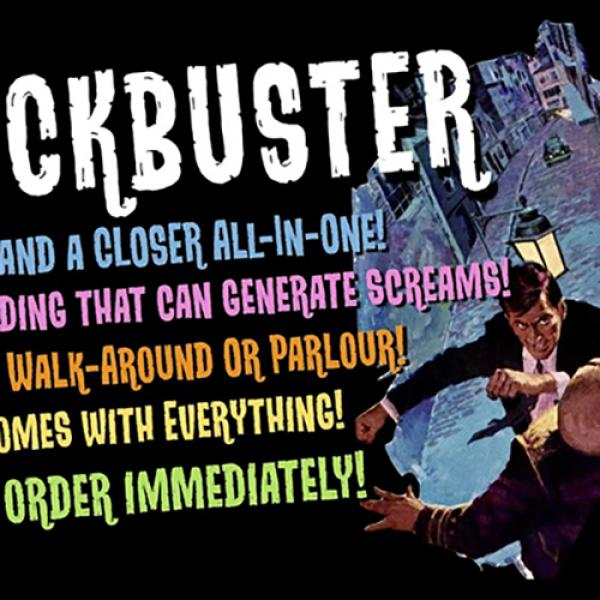 Blockbuster (Gimmicks and Online Instructions) by ...