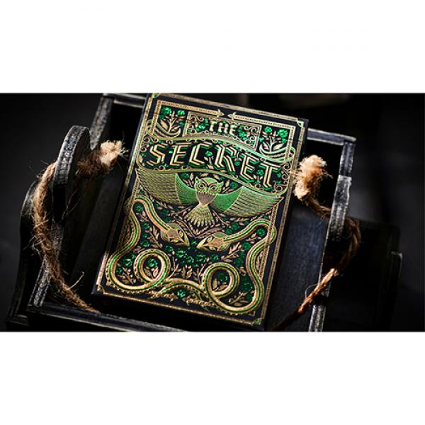 The Secret (Emerald Edition) Playing Cards by Riff...