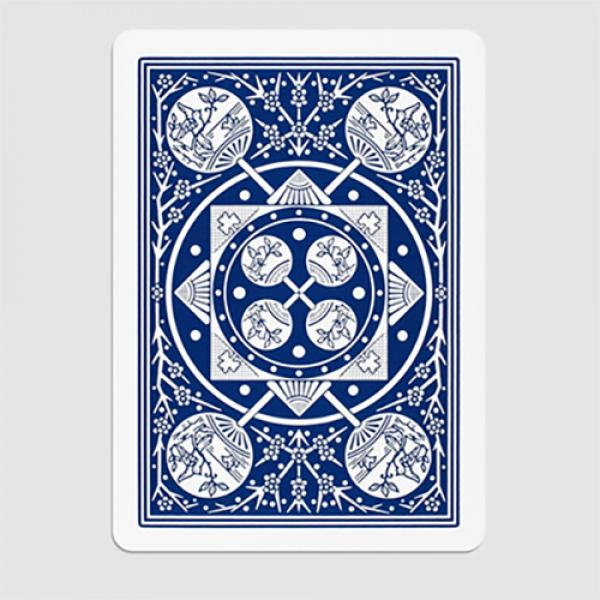 Tally Ho Fan Back Gaff Pack Blue (6 Cards) by The ...