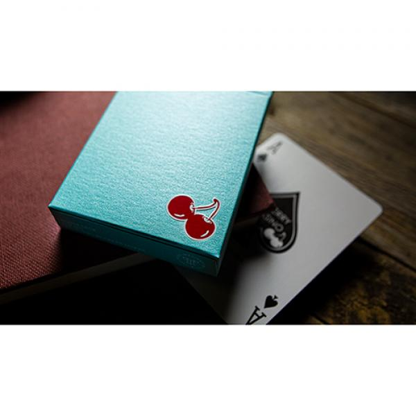 Cherry Casino House Deck (Tropicana Teal) Playing ...