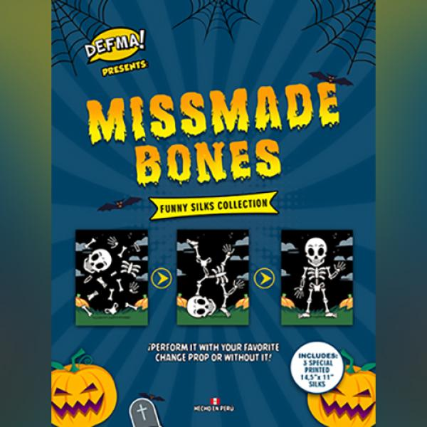 MISSMADE BONES by Magic and Trick Defma