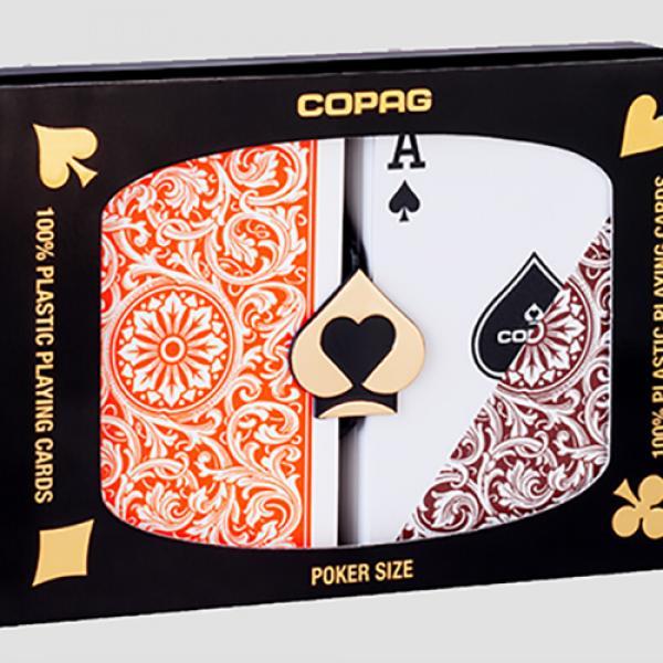 Copag 1546 Plastic Playing Cards Poker Size Regula...