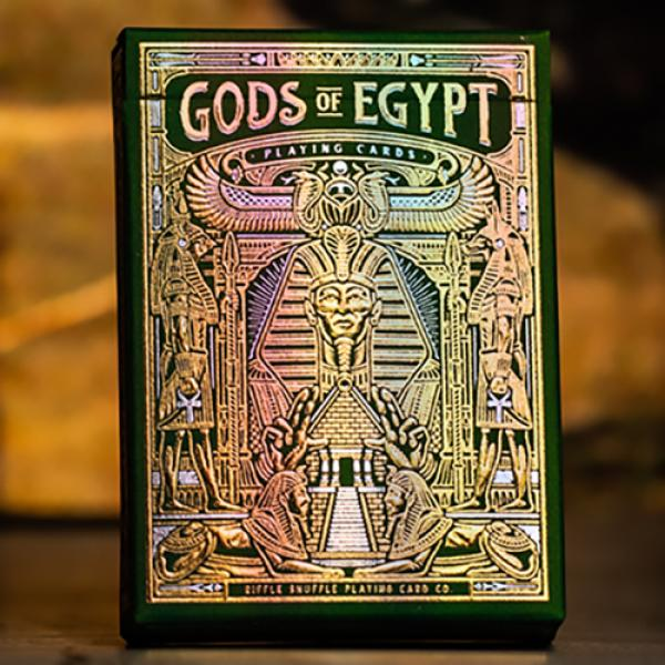 Gods of Egypt (Golden Oasis) Playing Cards by Divi...