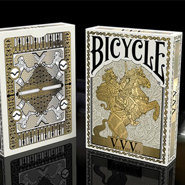 Bicycle VeniVidiVici Metallic Playing Cards by Col...