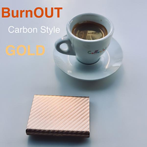 BURNOUT 2.0 CARBON GOLD by Victor Voitko (Gimmick ...