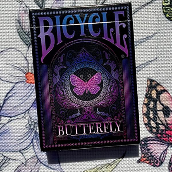 Bicycle Butterfly (Purple) Playing Cards