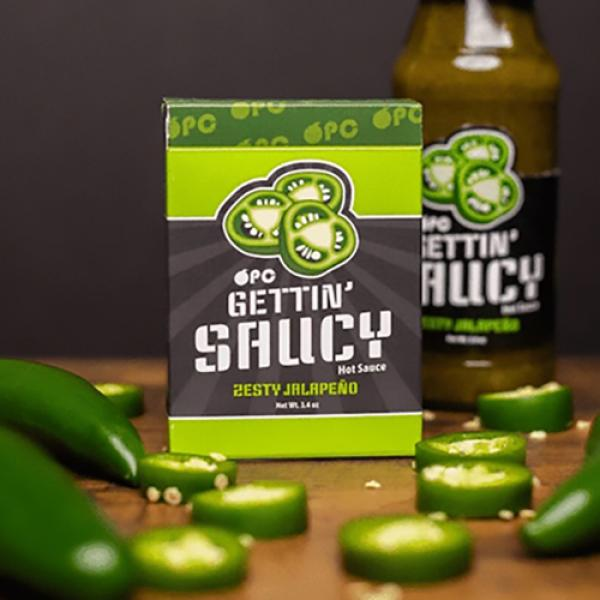 Gettin' Saucy - Jalapeno Pepper Playing Cards by O...