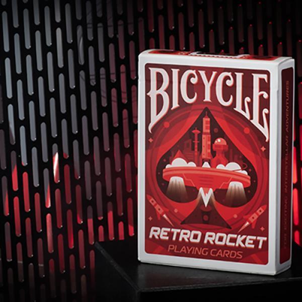 Bicycle Retro Rocket Playing Cards