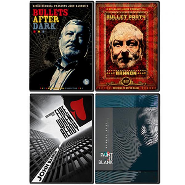 John Bannon's Bullet Trilogy (Includes Bullet Afte...