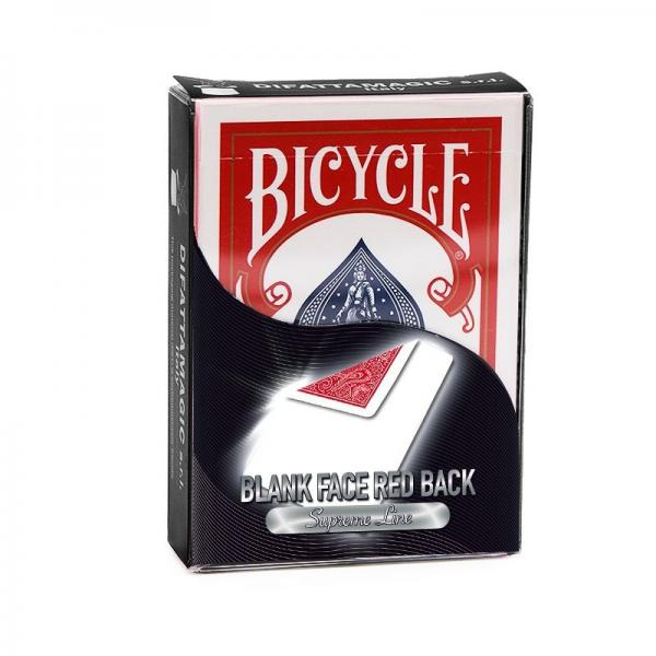 Bicycle - Supreme Line - Blank face/Red back