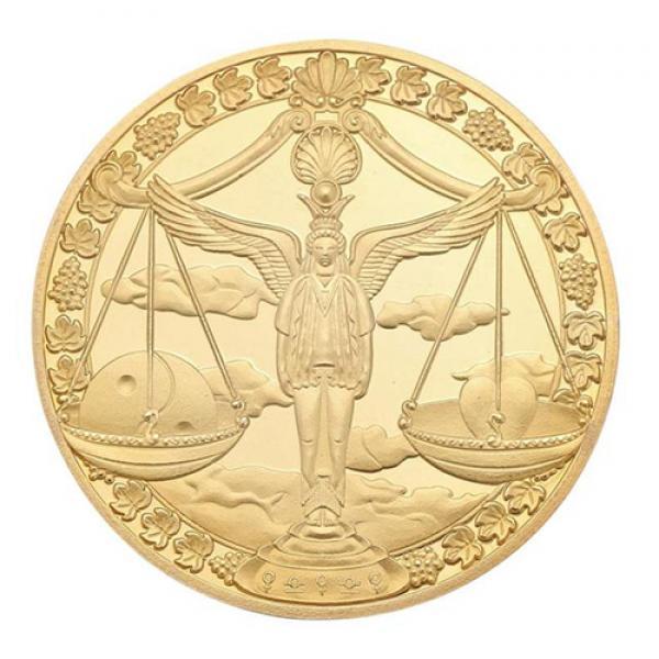 Commemorative Constellation Coin Libra
