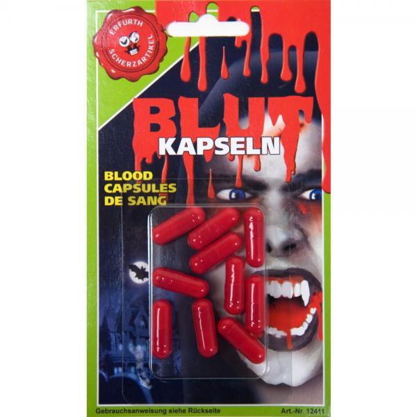 10 Fake Blood Capsules