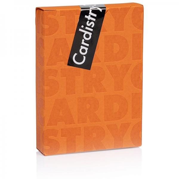 Cardistry-Con 2019 Playing Cards - Orange