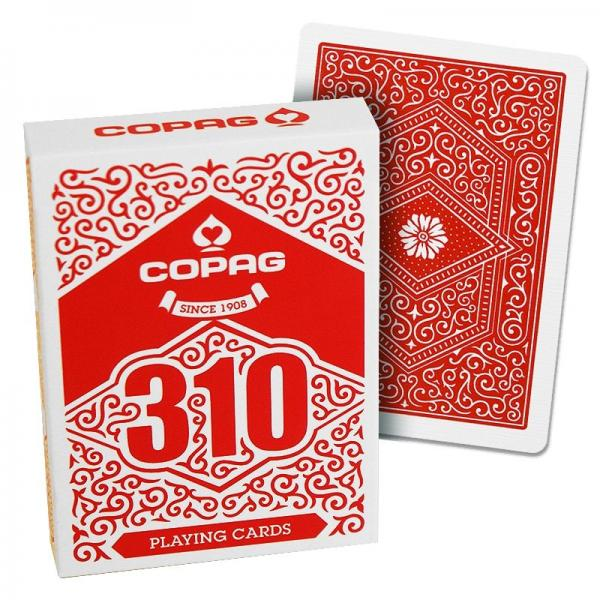 COPAG 310 Slim Line Playing Cards (Red)
