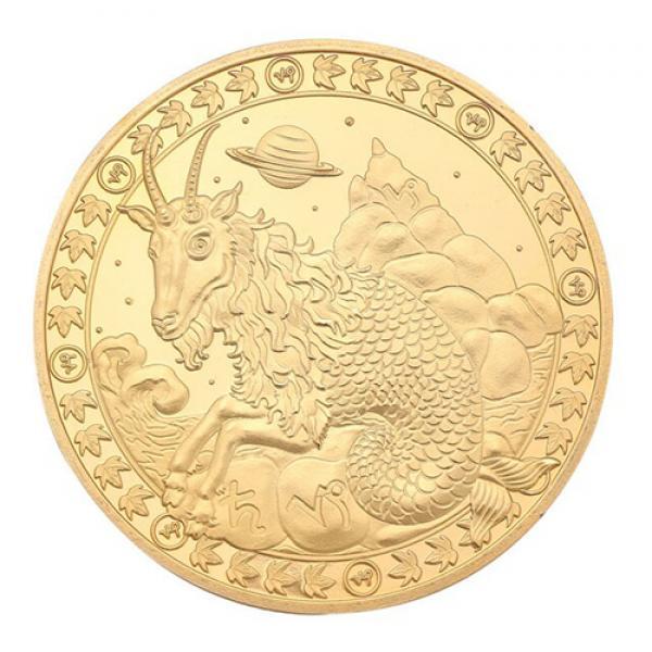 Commemorative Constellation Coin Capricorn