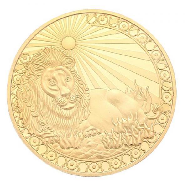 Commemorative Constellation Coin Leo