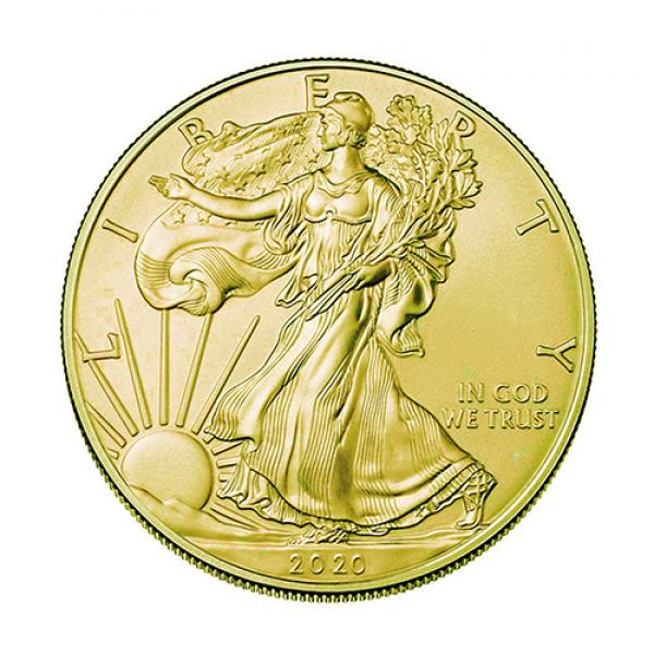 2020 American Statue of Liberty Coin Gold