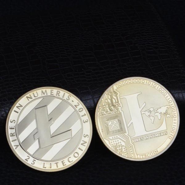 Litecoin Coin Gold