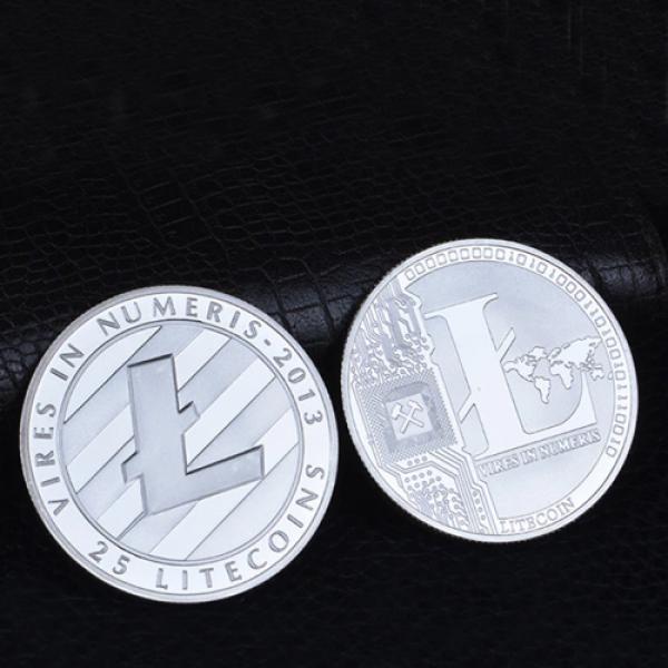 Litecoin Coin Silver