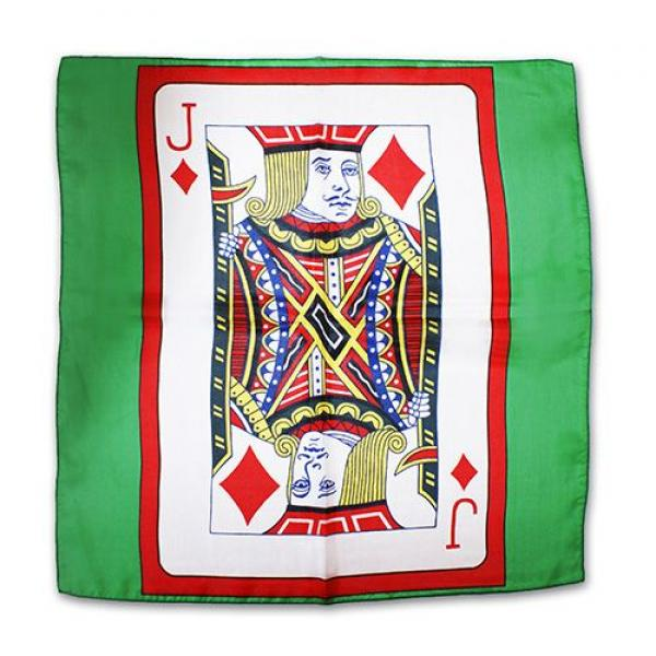 Sitta Card Silk - Green - 18 inch  - Jack of Diamo...