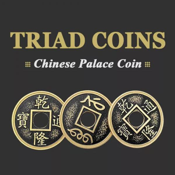 Triad Coins (Chinese Palace Coin) - Half Dollar Si...