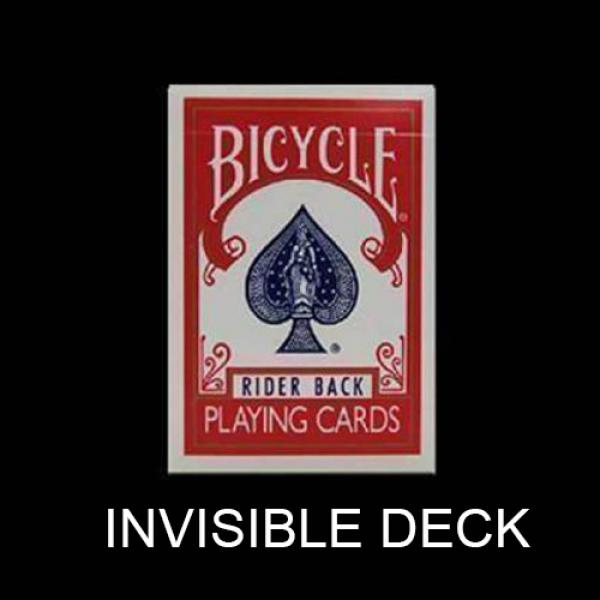 Bicycle Invisible Deck - Red