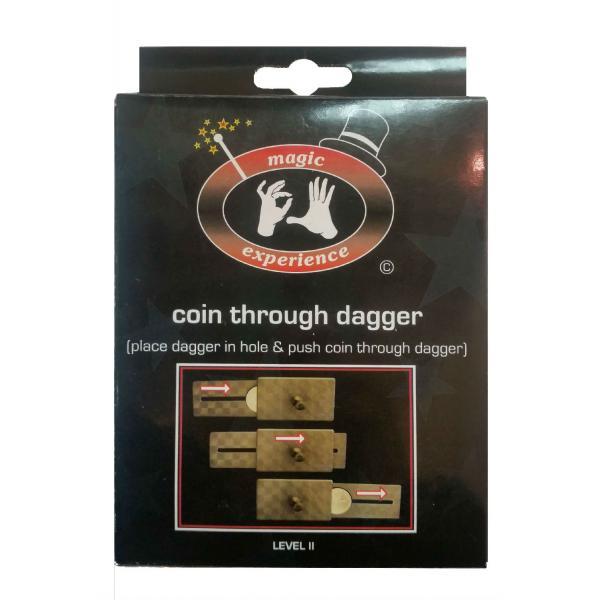 Coin throug dagger