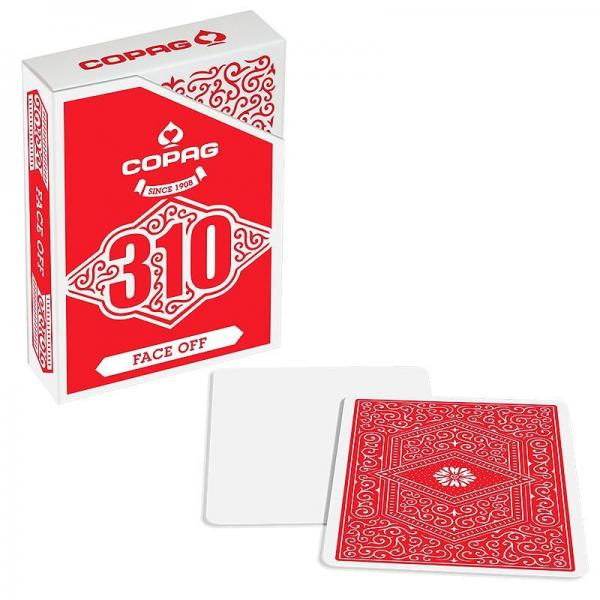 Copag 310 Playing Cards - Slim Line - Face Off - R...