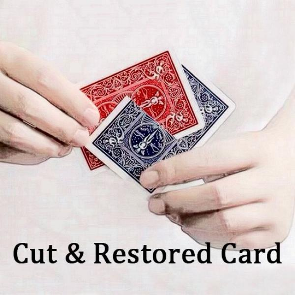 Cut & Restored Card (Version A)