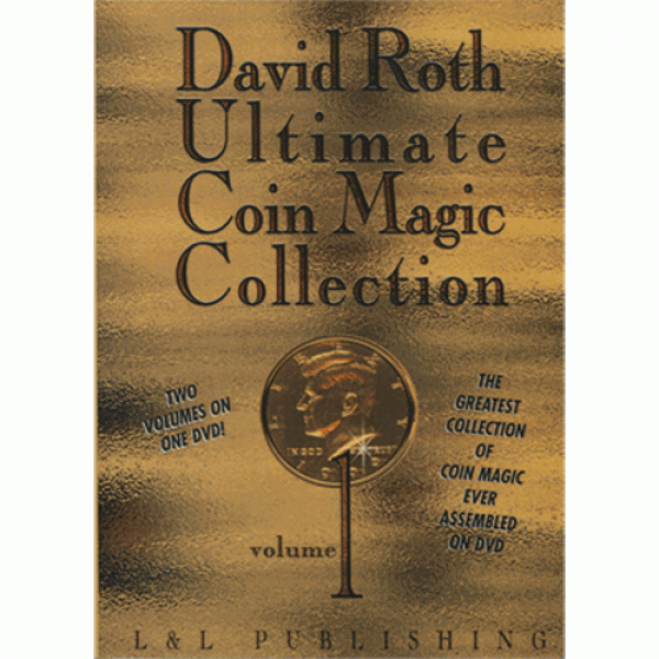 David Roth Ultimate Coin Magic Collection Vol 1 vi...