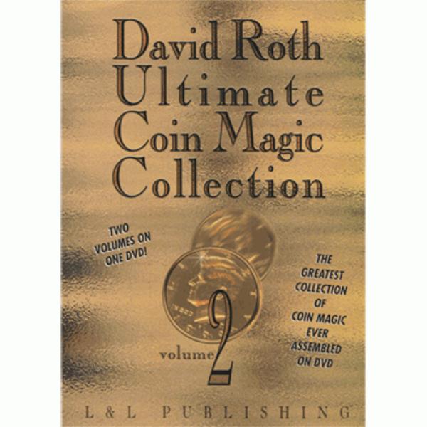 David Roth Ultimate Coin Magic Collection Vol 2 vi...