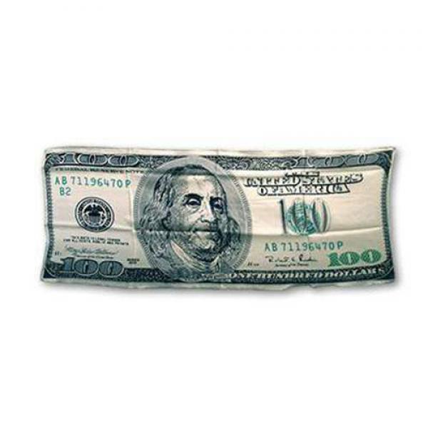 $100 bill Silk 36 inch by Magic by Gosh