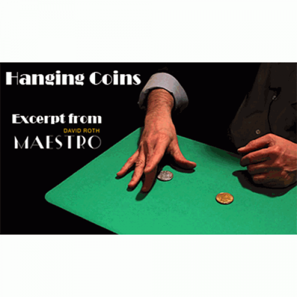 Hanging Coins EXCERPT from Maestro by David Roth &...