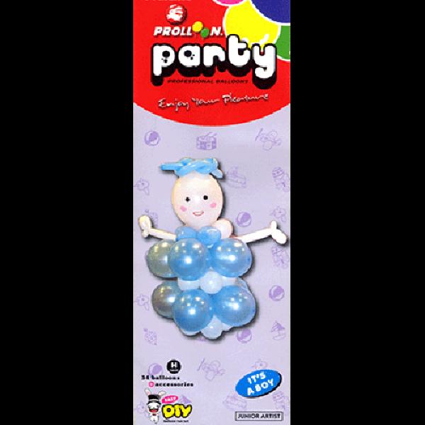 Mini Boy Balloon Kit by Will Roya