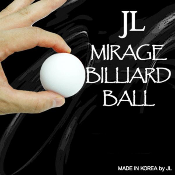 Two in Mirage Billiard Balls by JL (WHITE, single ...